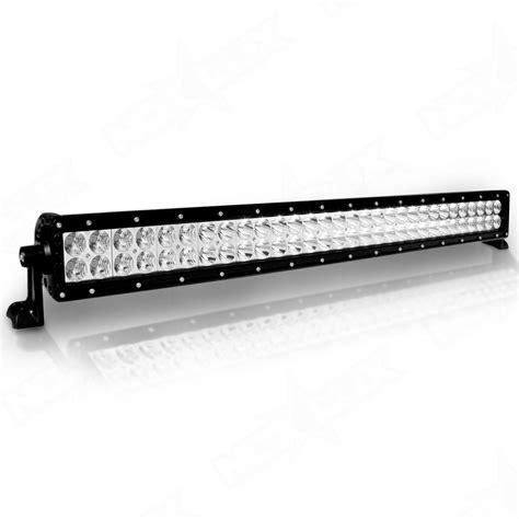 led light bar video 30 quot dual row led light bars nox lux