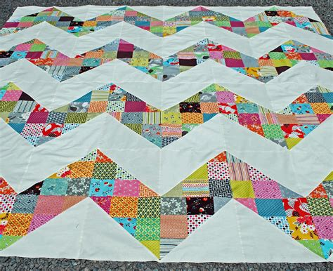 Size Chevron Quilt Pattern by Sewing Ginabeanquilts