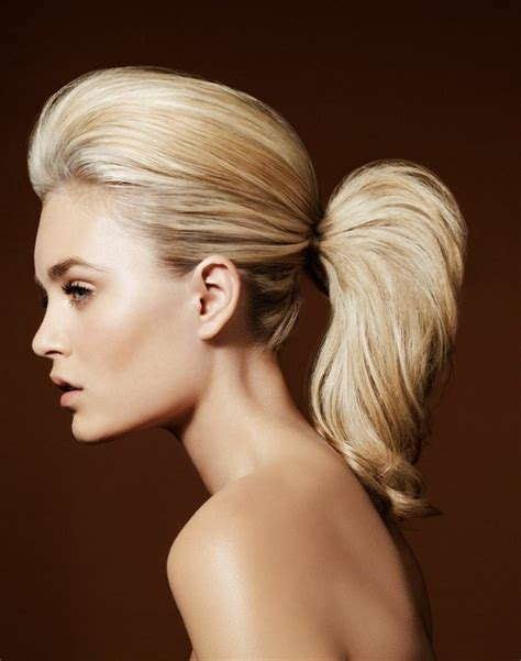 hairstyles for long voluminous hair high volume pony tail 7 quick fabulous hairstyles that