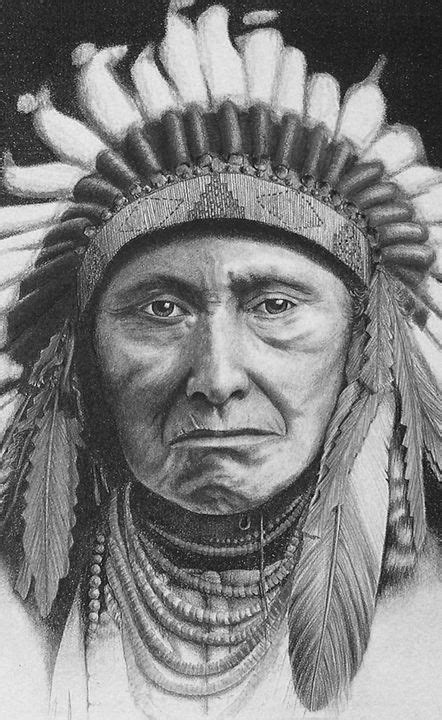 American Indian: A Tribute. Pencil, 1994.   Ideias de