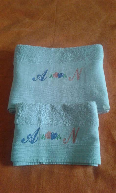 punto croce asciugamani bagno asciugamani punto croce per la casa e per te bagno