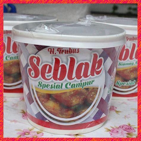 seblak instant spesial campur merk trubus shopee indonesia