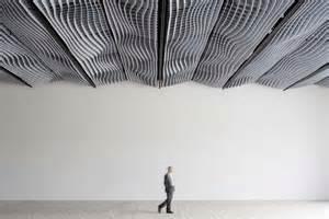 akustik decke skulpturale ma 223 geschneiderte akustikdecke
