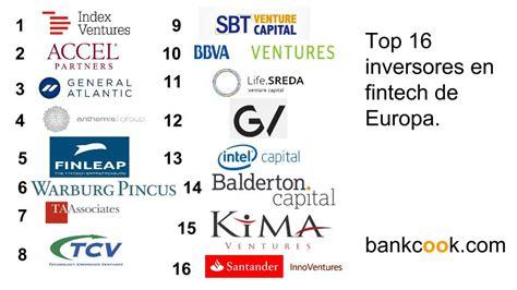 bancos inversion inversi 243 n de la banca en fintech bankcook