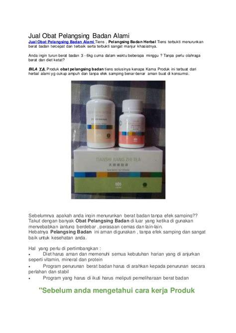 Obat Pelangsing Simpelet jual obat pelangsing badan alami