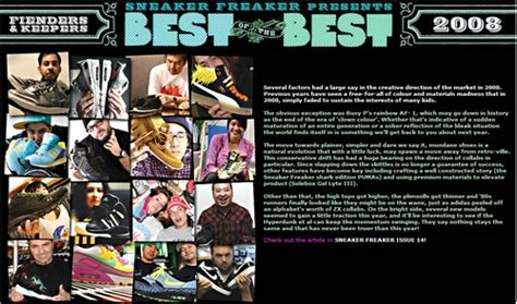 Top 20 Of 2008 by 2008 Best Of The Best Sneakersbr