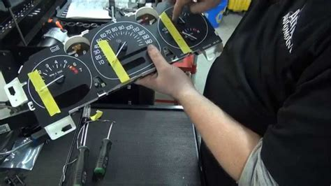 how to fix cars 1998 chevrolet 2500 instrument cluster how to repair gm instrument cluster speedometer gauge stepper youtube