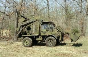 Unimog 406 vehicle at ft belvoir va 28 july 1983 eight of these