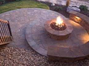 backyard firepit how to plan for building a pit hgtv
