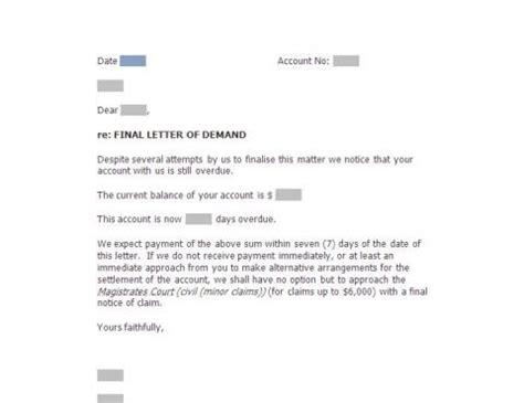Demand Letter Sa Kabit letter c f demand sa 6 000 docdownload