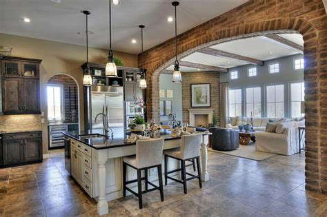 Kitchen And Living Room Open Floor Plans with building resurgence home buyers find new design