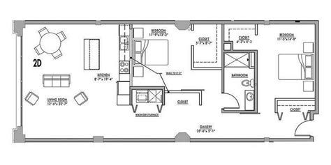 floor plan 2d junior house lofts