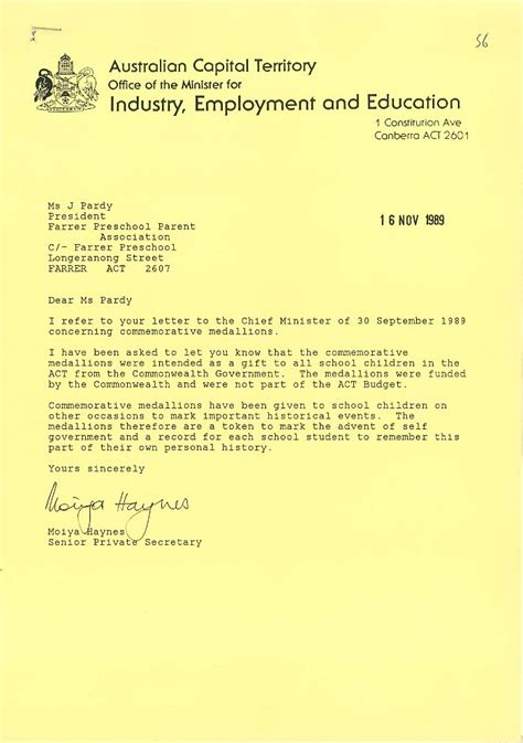Recommendation Letter Kindergarten Sle Previous Find Of The Month 5 2013 Archivesact