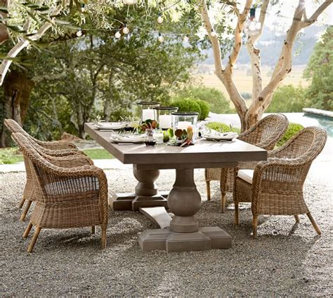 Pottery Barn Patio Table Pottery Barn Outdoor Furniture Sale Save 30 On Chaise Lounges Dining Tables Cabana And More