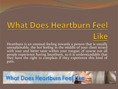 what does a tattoo feel like on your wrist what does heartburn feel like