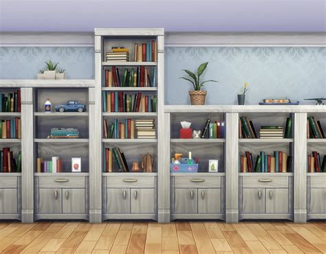 mod the sims muse shelf add ons