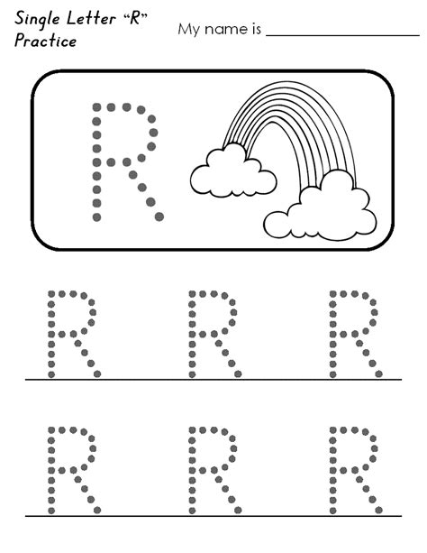 kindergarten activities with the letter r letter r worksheets for preschoolers 6 best images of