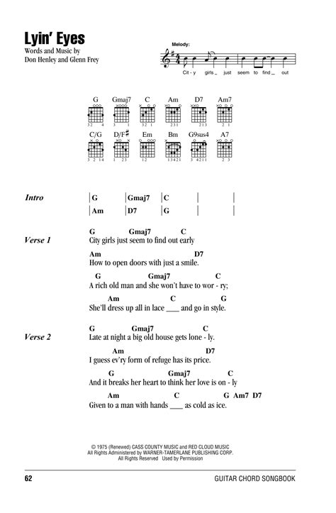 Eagles Guitar Chords And