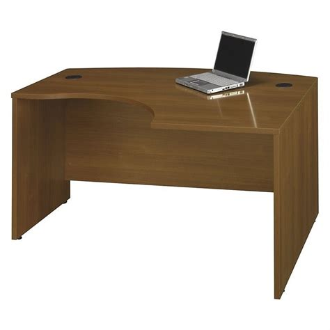 Corner Computer Desk Oak Bush Business Series C Rh Corner Computer Desk In Warm Oak Wc67522