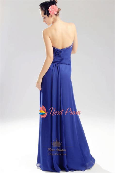 royal blue beaded dress royal blue chiffon evening dress chiffon beaded illusion
