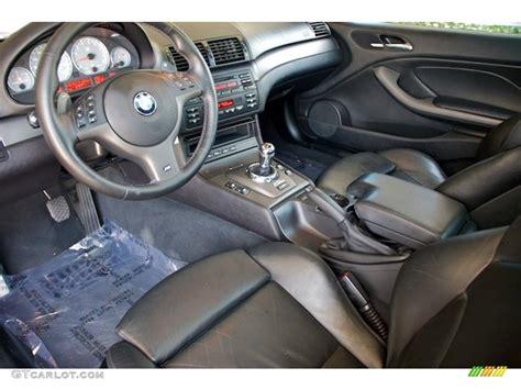 black interior 2002 bmw m3 coupe photo 65544171
