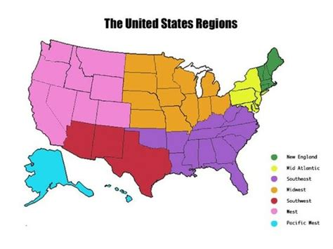 5 regions of the united states printable map the o jays united states map and us states on