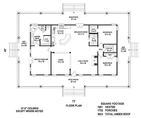 open floor plans with porches best 25 simple floor plans ideas on pinterest