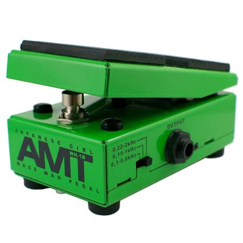 Amt Electronics Wh 1 Optical Wah Wah Pedal brand new amt electronics wh 1b optical bass wah wah pedal reverb