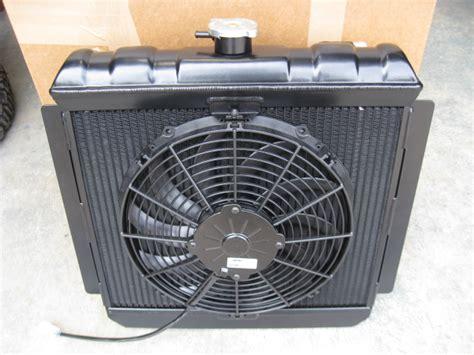 Sensor Radiator Vario Lama Original mk2 rs2000 alloy radiator with fan and switch historic motorsport