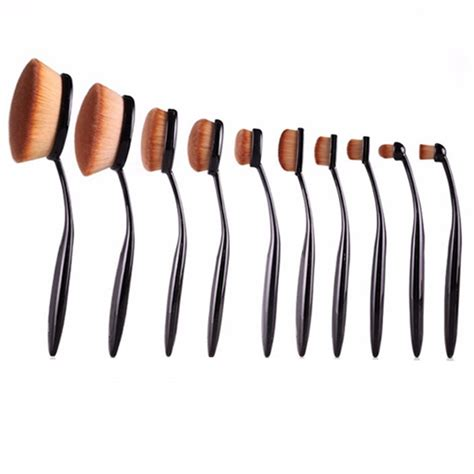 Oval Brush Blending 1 oval brush 10 set my make up brush set us