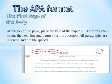 apa format indent paragraphs the apa format title page ppt video online download