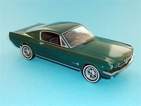 Trockenzeit Lackierung Auto by 1965 Ford Mustang 2 2 Fastback Revell 1 24 Von Marco Roth