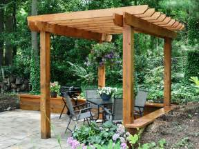 How To Make A Wooden Pergola by How To Build A Pergola How Tos Diy
