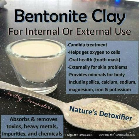 Bentonize Clay Detox discover and save creative ideas