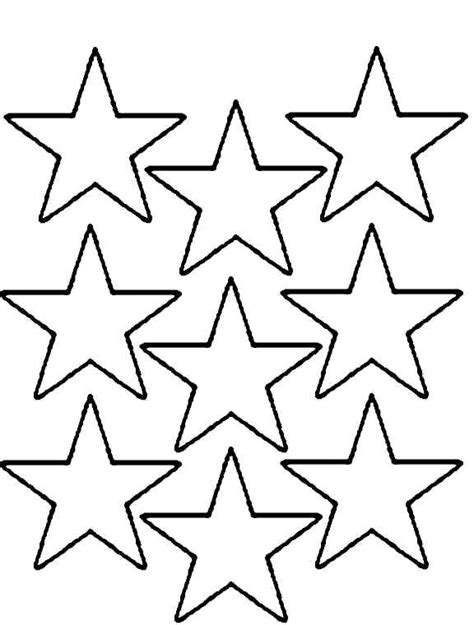 coloring pages of a small star stars coloring pages multi stars print coloring pages