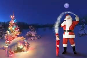 Santa On The Shelf by Santa Claus Kalliope Khepri