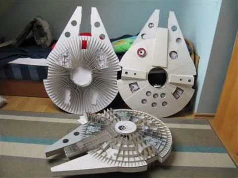 Millenium Falcon Papercraft - papercraft millennium falcon papercraft mini