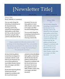 microsoft word newsletter template word newsletter template lisamaurodesign