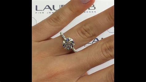 2 carat wedding ring 2 carat round diamond engagement ring youtube