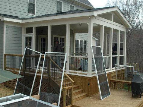 enclosed porch plans how to build cheap enclosed porch