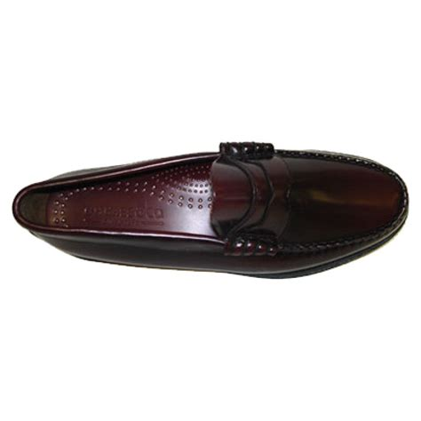 bass weejuns loafers bass weejuns classic league mod 60 s leather