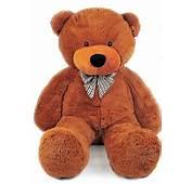 Urso De Pel&250cia Teddy Grande  Presentes Com Carinho
