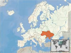 Ukraine World Map by Ukraine Facts And Features