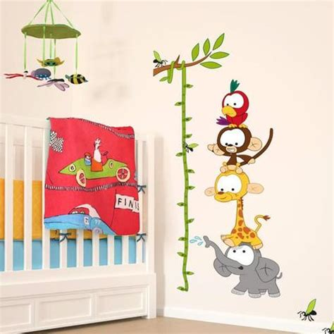 Jungle Stickers For Nursery Walls kids wall stickers nursery wall stickers by vinyl