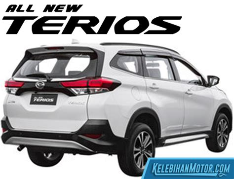 kas rem mobil terios spesifikasi dan harga daihatsu terios bekas baru 2018