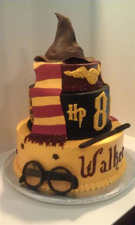 Decorating Cakes At Home by Harry Potter Birthday Cake Cakecentral Com