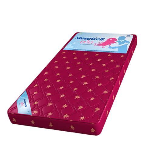 Mattress Sleepwell Price by Sleepwell Duet Air Mattress Best Price In India On 3rd
