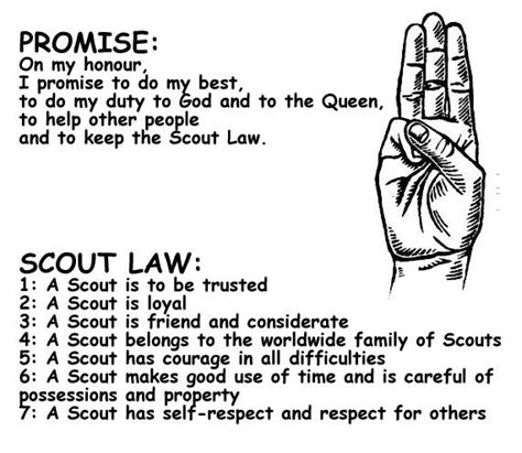 15 Best Images About Girl Scouts On Pinterest Girl Scout Scout And Promise Coloring Pages Free