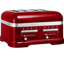 Buy Toasters buy kitchenaid artisan 5kmt4205bca 4 slice toaster free delivery currys