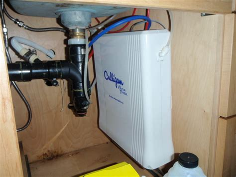 miscellaneous under sink water heater installation with